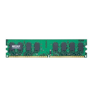 BUFFALO DDR2 SDRAM 800MHz(PC2-6400) 240pin DIMM 2GB D2/800-2G