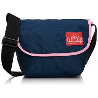[マンハッタンポーテージ] Manhattan Portage 公式 2TONE Casual Messenger MP1605JRMUL-B NVY/PNK (Navy/Pink)