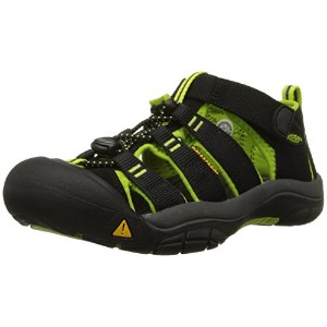 [キーン] KEEN KIDS NEWPORT H2 1009922 BLACK/LIME GREEN (BLACK/LIME GREEN/US 7)