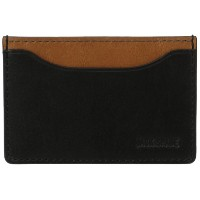 [ジャック・スペード] JACK SPADE カードケース MITCHELL LEATHER CREDIT CARD HOLDER W6RU0013 011 (BLACK / SADDLE)
