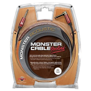 Monster Cable M ACST2-21A Monster アコースティック2 Series ギター用ケーブル/ プラグ S-L /ケーブル長:約6.4m