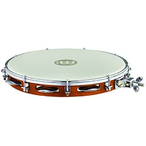 "MEINL Percussion マイネル パンデイロ Traditional Wood Pandeiro with Holder 12"" PA12CN-M-TF-H 【国内正規品】"