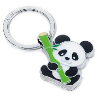 TROIKA GERMANY(トロイカ) BAMBOO PANDA キーリング バンブーパンダ KR10-03/CH
