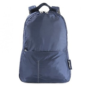 TUCANO 軽量 折り畳み コンパクト収納可能 バックパック 防水仕様 ブルー Backpack COMPATTO XL Blue BPCOBK-B
