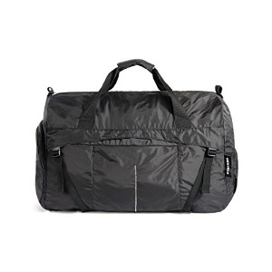 TUCANO 軽量 折り畳み コンパクト収納可能 ダッフルバッグ 防水素材 ブラック Duffle Bag COMPATTO XL Black BPCOWE