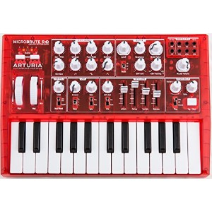 ARTURIA キーボードシンセサイザー MICROBRUTE RED 赤