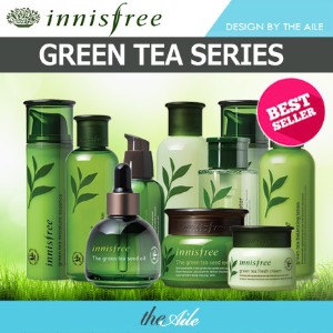 [innisfree] The Green Tea Seed Line (serum/cream/deep cream/eye cream/oil)