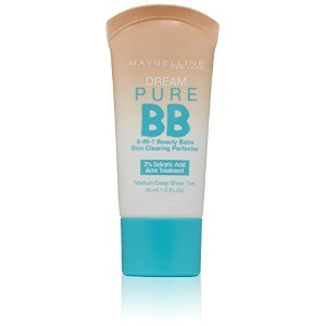 ◆Direct from USA◆ Maybelline New York Dream Pure BB Medium/Deep 1 fl. oz.(Packaging May Vary)-boi-
