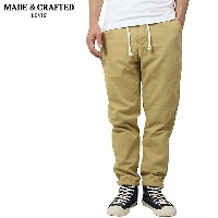 Levi's Made & Crafted Drop Out Pants [BEIGE] リーバイス メイド&クラフテッド メンズ イージーパンツ ベージュ カーキ LEVIS 59121-0004...