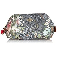 Oilily (オイリリー) ポーチ Diamond Flowers Soft Frame Pouch Silver OCB5529-909