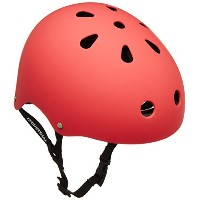 INDUSTRIAL(インダストリアル) HELMET Flat Red L BW00599 RED L:約60cm スケートボード用ヘルメット