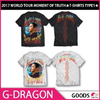 【1次予約限定価格】G-DRAGON 2017 WORLD TOUR MOMENT OF TRUTH ★T-SHIRTS TYPE1★【GOODS】【発売6月中旬】【6月末発送】