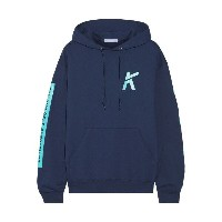 コザ Koza レディース 水着 ビーチウェア【Wave printed cotton-blend jersey hooded top】