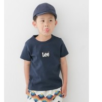 DOORS Lee×DOORS-natural- LOGO PRINT T-SHIRTS(KIDS)【アーバンリサーチ/URBAN RESEARCH その他(トップス)】