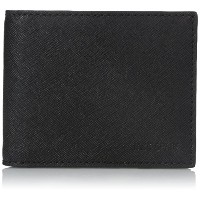 [ジャック・スペード] JACK SPADE 折り財布 BARROW LEATHER SLIM BILLFOLD W6RU0233 001 (BLACK)