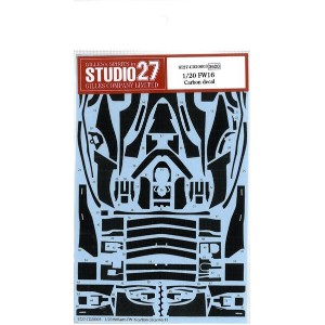1/20 FW16 Carbon decal