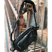【DECADE(ディケイド)】【予約販売ご注文から1週間後出荷】DCD-00952-Oiled Leather Body Bag バッグ