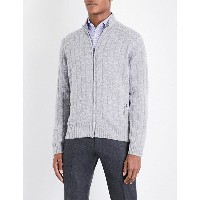 コルネリアーニ corneliani メンズ トップス ニット・セーター【cable-knit wool and cashmere-blend jumper】Lt grey