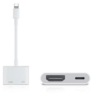 Lightning Digital AV HDMI adapter ライトニング HDMI 変換 アダプタ ★ iPhone iPad iPod 対応