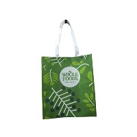 WHOLE FOODS トートエコバッグ グリーン [並行輸入品]