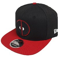 New Era Deadpool Black Red Marvel Comics Snapback Cap 9fifty Limited Edition