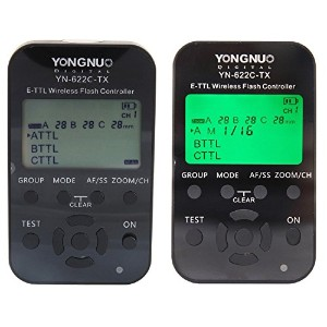 Yongnuo YN-622C-TX E-TTL Wireless Flash Controller for Canon (622C-TX*1)