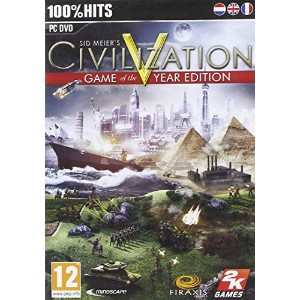 Sid Meier's Civilization V Game Of The Year Edition (PC DVD)