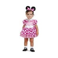 Mickey Mouse Clubhouse - Pink Minnie Mouse Infant Costume ミッキーマウスクラブハウス - ピンクミニーマウスの幼児のコスチューム サイズ...