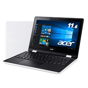 Acer ノートパソコン Aspire R11 R3-131T-A14N/W Windows10/Celeron/11.6インチ/4GB/32GB