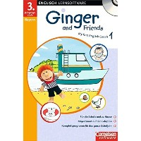 Ginger and Friends Bd 1: 3. Jahrgangsstufe. Ausgabe Bayern. CD-ROM ab Windows 98/ME/2000/XP. My...