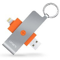 【Apple認証 (Made for iPhone取得)】 Omars Lightningカード リーダー USB メモリiPhone iPad iPod touchの容量不足解消