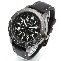 [Smith & Wesson]スミス&ウェッソン ミリタリー腕時計 CALIBRATOR WATCH WHITE/BLACK SWW-877-WH [正規品]