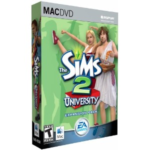 The Sims 2 University Expansion Pack (Mac) (輸入版)