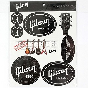 Gibson G-STICKER1 Logo Stickers ステッカー