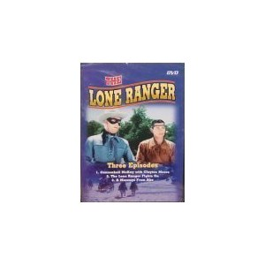 The Lone Ranger - 3 Episodes [Slim Case]