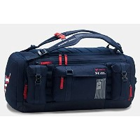 UA x Project Rock Freedom Range Duffle Midnight Navy/Midnight Navy ダッフル アンダーアーマー [並行輸入品]