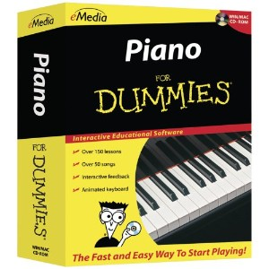 Piano for Dummies [import anglais]