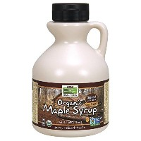 海外直送品Now Foods Maple Syrup Organic, 16 oz