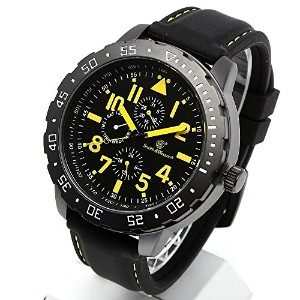 [Smith & Wesson]スミス&ウェッソン ミリタリー腕時計 CALIBRATOR WATCH YELLOW/BLACK SWW-877-YW [正規品]