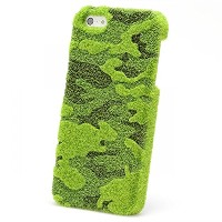 [AG/SBC-ISE02] ShiabCAL by Shibaful カモフラージュ for iPhone SE / シバカル(iPhone5/5s対応) iPhoneSE 代々木公園 緑...