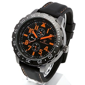 [Smith & Wesson]スミス&ウェッソン ミリタリー腕時計 CALIBRATOR WATCH ORANGE/BLACK SWW-877-OR [正規品]