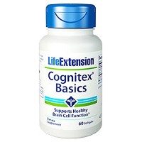 海外直送品 Life Extension Cognitex Basics, 60 softgels