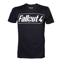 Fallout 4 Game Logo T-Shirt - Medium (輸入版)