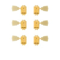 Gibson PMMH-020 Vintage Gold Machine Heads w/ Pearloid Buttons ギター用ペグ