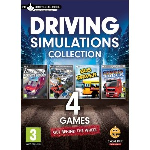 Driving Simulation Collection - Digital Card Download (PC DVD) (輸入版) (UK Account required for...
