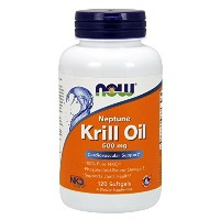 海外直送品Now Foods Neptune Krill Oil, 120 Softgels 500 mg
