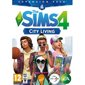 The Sims 4: City Living Expansion Pack (PC DVD) (輸入版)