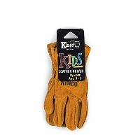 Kinco Gloves Youth's Split Cowhide Leather Driver 50Y
