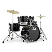 Pearl ROADSHOW RS585C/C #31 JET BLACK ドラムセット