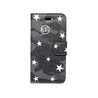 SOPHNET. ソフ uniform experiment UE☆2016 黒 STAR CAMOUFLAGE FLIP CASE for IPHONE 6/6S アイフォンケース BLACK...